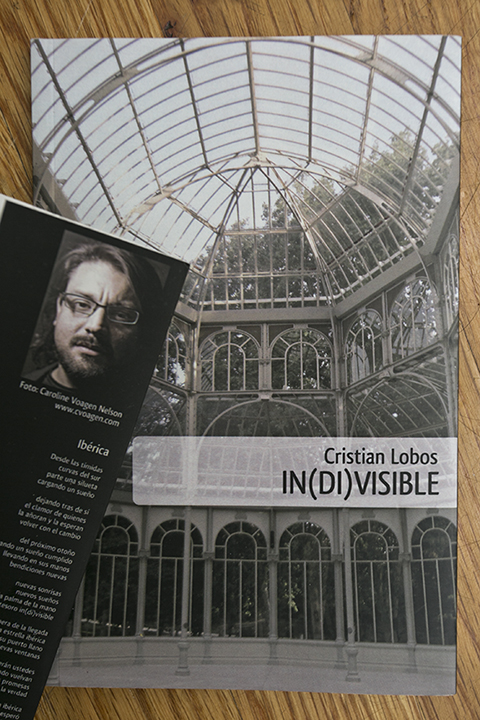 Got my copy of Cristian Lobos's   book  In(di)visible  the other day! His book on poetry is printed beautifully … can't believe it was only a little over a year ago I took his portrait for the book in Santiago, Chile.