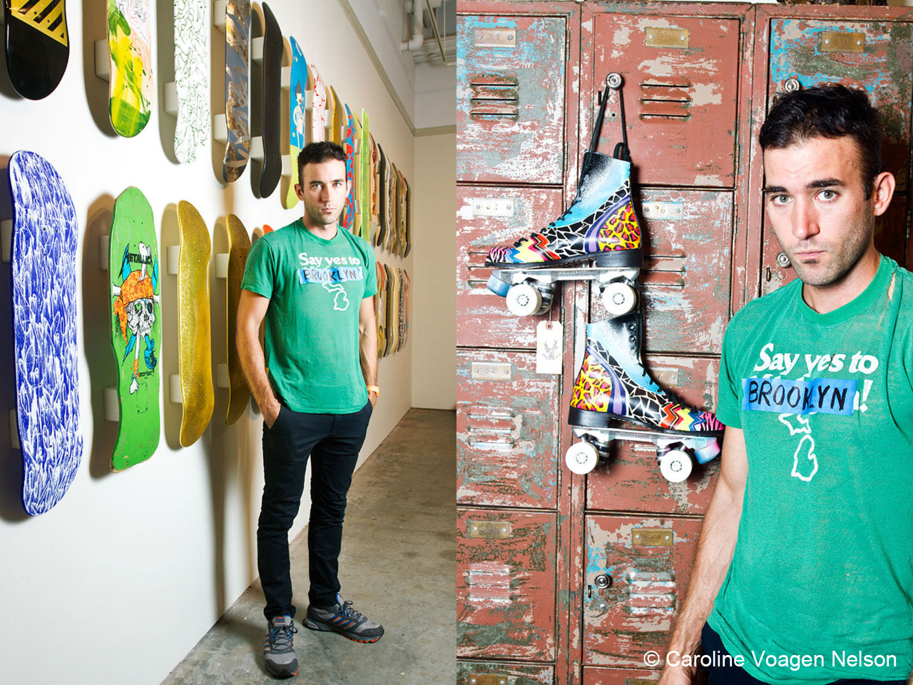 Here's photos from my shoot with Sufjan Stevens at 1-20 Gallery, talking  about how outsider artist Royal Robertson has influenced his music. Say YES to Brooklyn!