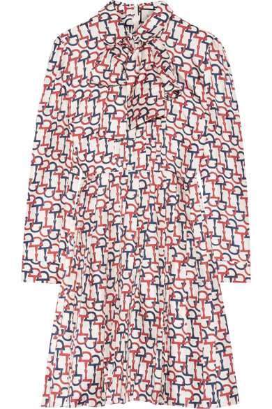 GUCCI Print Bow Front Dress, Net-a-Porter $3,200
