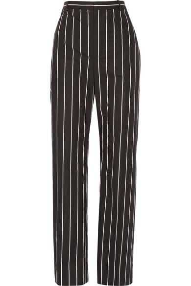 BALENCIAGA Stripe poplin pant Net-a-Porter $755