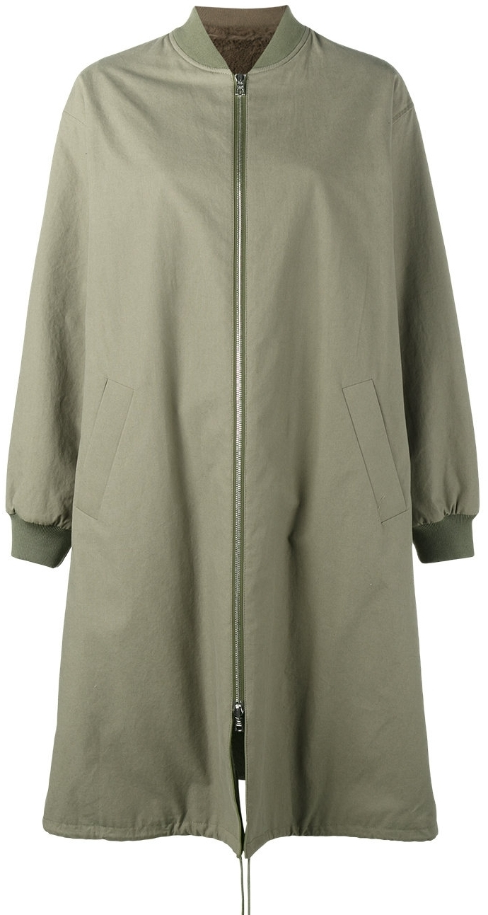 Army YVES SOLOMON Long Bomber, $2050 at Farfetch
