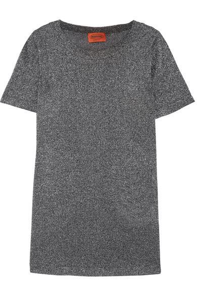 MISSONI Metallic Knit top, $530 at Net a Porter