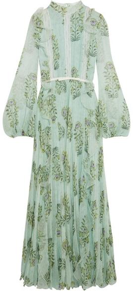 GIAMBATISTA VALLI Ruffled Floral Print Max, Net-a-Porter $5,195