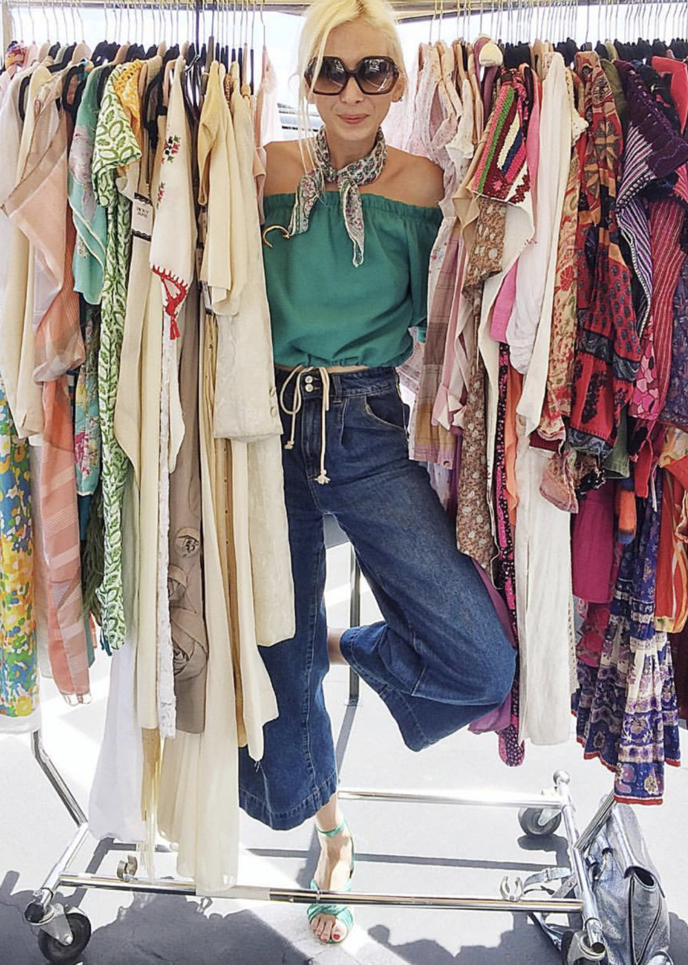 "Tell us about your relationship with vintage clothing, when did you first ""discover"" vintage, and how has it been important to your personal style or professional career.  - I think it was always a bonding thing between my mom and I. It would be our special time to spend together. And as a teenager I didn't have a big allowance for clothes, so it was a way to get the most for my money and keep a unique style. I was also super shy growing up so clothes were always my way to express myself without saying anything."