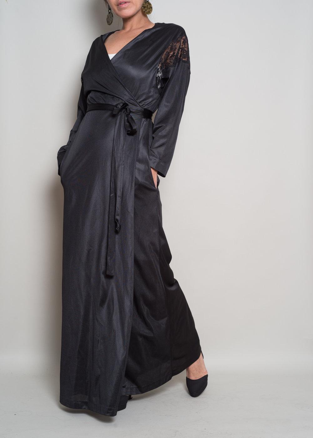 1980sDVFRobe Wrap Dress - From OMNIA VINTAGE