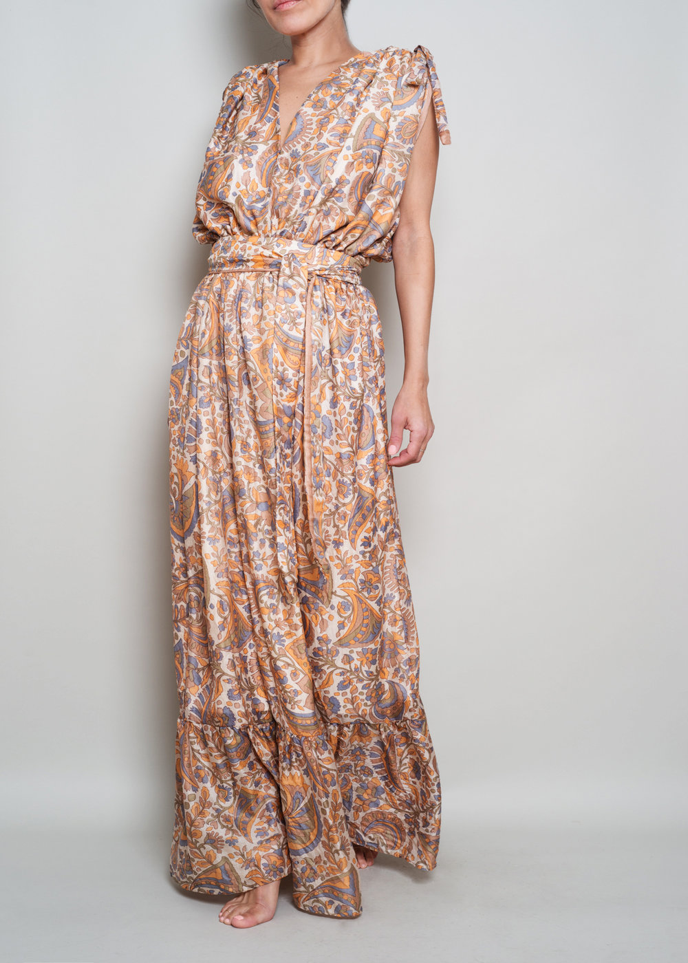 Le Marie Collection One of a Kind Bohemian Silk Sari Maxi Dresses Sustainable Fashion032.JPG