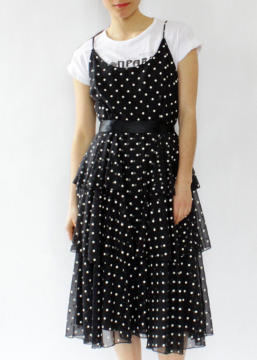 Polka Dot - vintage omnia dress.jpg