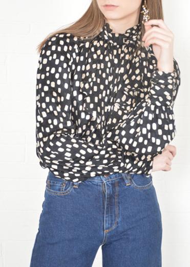 Dot- Thriftwares versace blouse.jpg