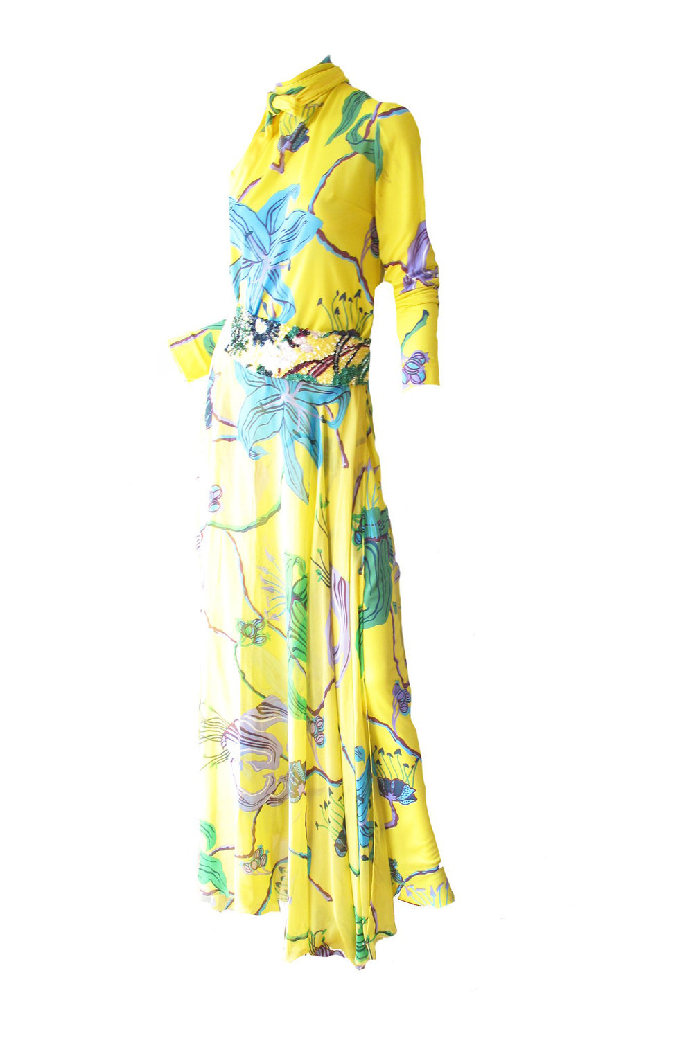 This STUNNING two piece maxi - If you have a fabulous May wedding to attend, you MUST buy this dress.I mean, just LOOK at it!