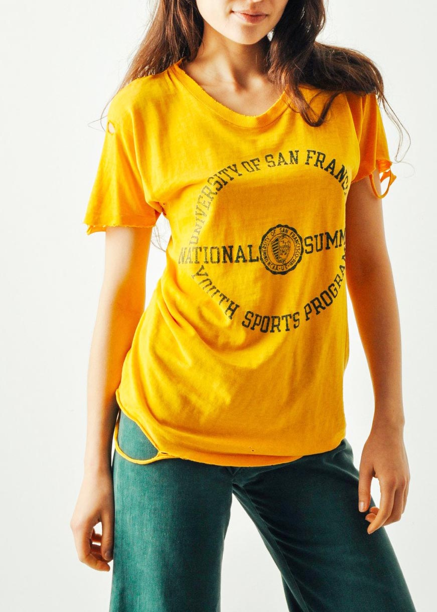 Vintage University of San Francisco Tee from MAEVEN VINTAGE