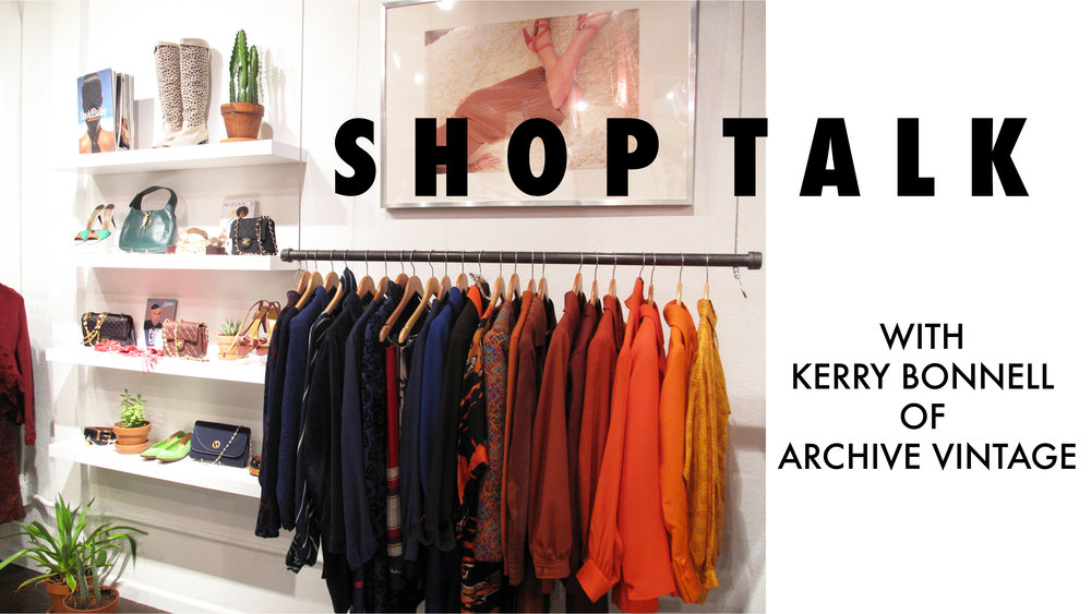 Our chat with Kerry + our list of the best vintage shops online