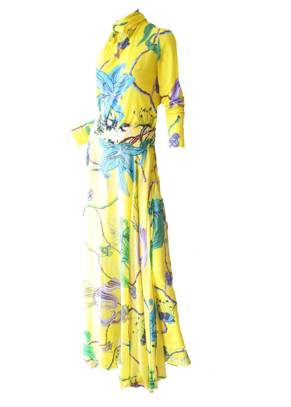 LA MENDOLA Vintage Gown at ARCHIVE VINTAGE