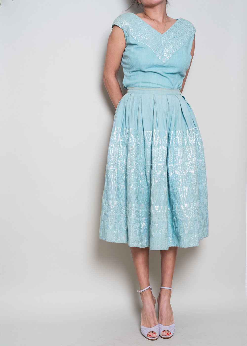 A_Part_of_the_Rest_Vintage_1950s_Guatemalan_Lurex_Woven_Textured_Midi_Skirt_Top_Set_009.jpg