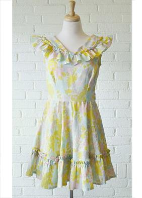 A Part of the Rest recommends REEL Vintage Shop Pastel Floral Mini dress.jpg