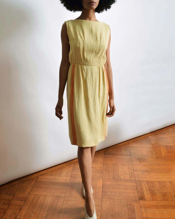 A Part of the Rest recommends- vintage summer get away NARRO linen dress.jpg