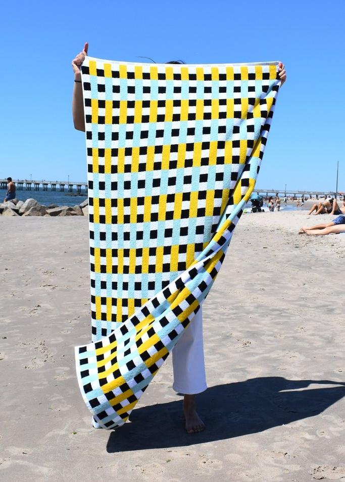 A fun beach towel -