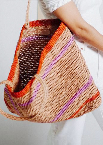 Handcrafted fiber bag - Made by hand, piece by piece in Colombia