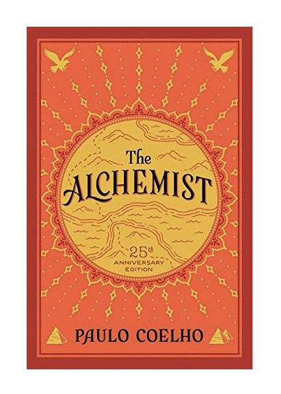 The Alchemist - I am probably not the only one who has read this a million times, and every time I pick it up, it's new and worth it. Follow Santiago on his journey though the Desert and learn a lesson in love every time.