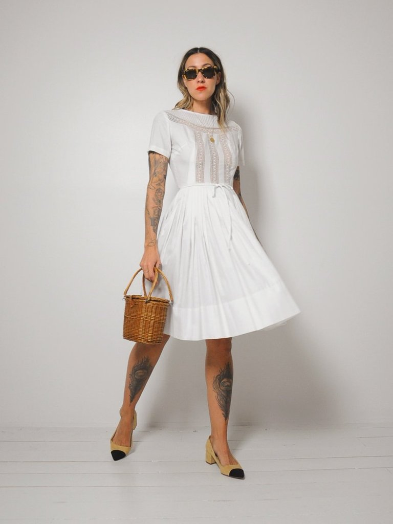 UNDER $200 - A little summer romance in gauze and lace for $185
