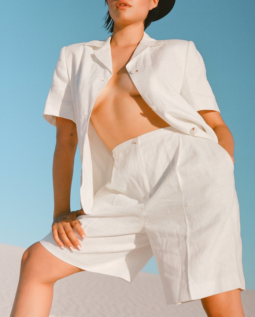 A Part of the Rest - Circa Now- Salt and Sand-Lauren Caruso-vintage finds-the_break_Linen_shorts_set.jpg