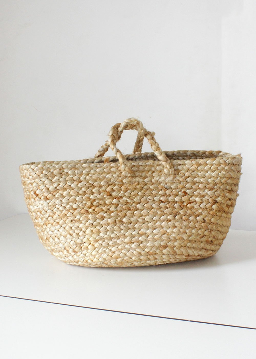 A good woven bag - These are all over the market online, and in stores, but we always grab vintage when we can. And a bag like this will last forever with proper care.