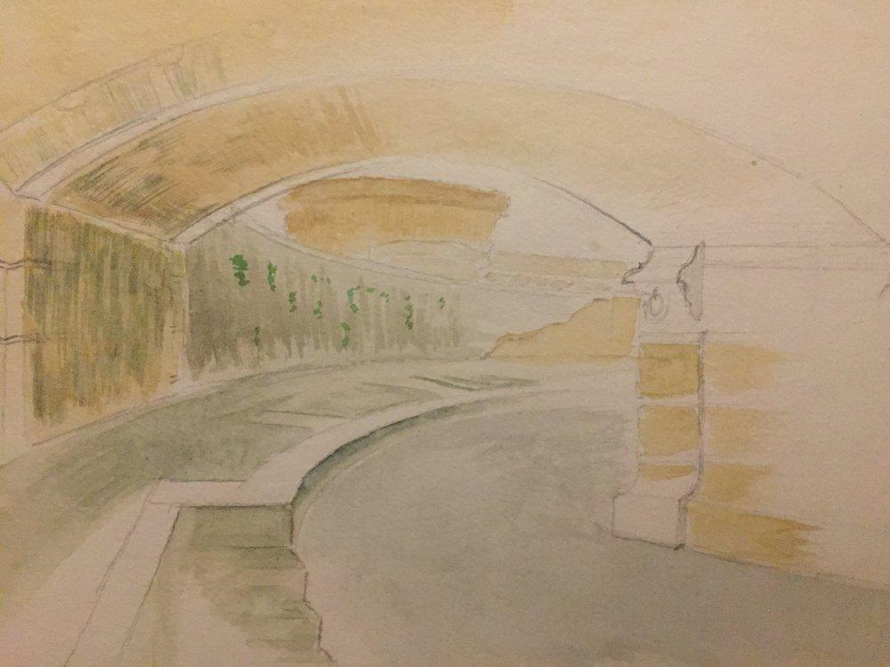 'Stroll Along the Tiber'