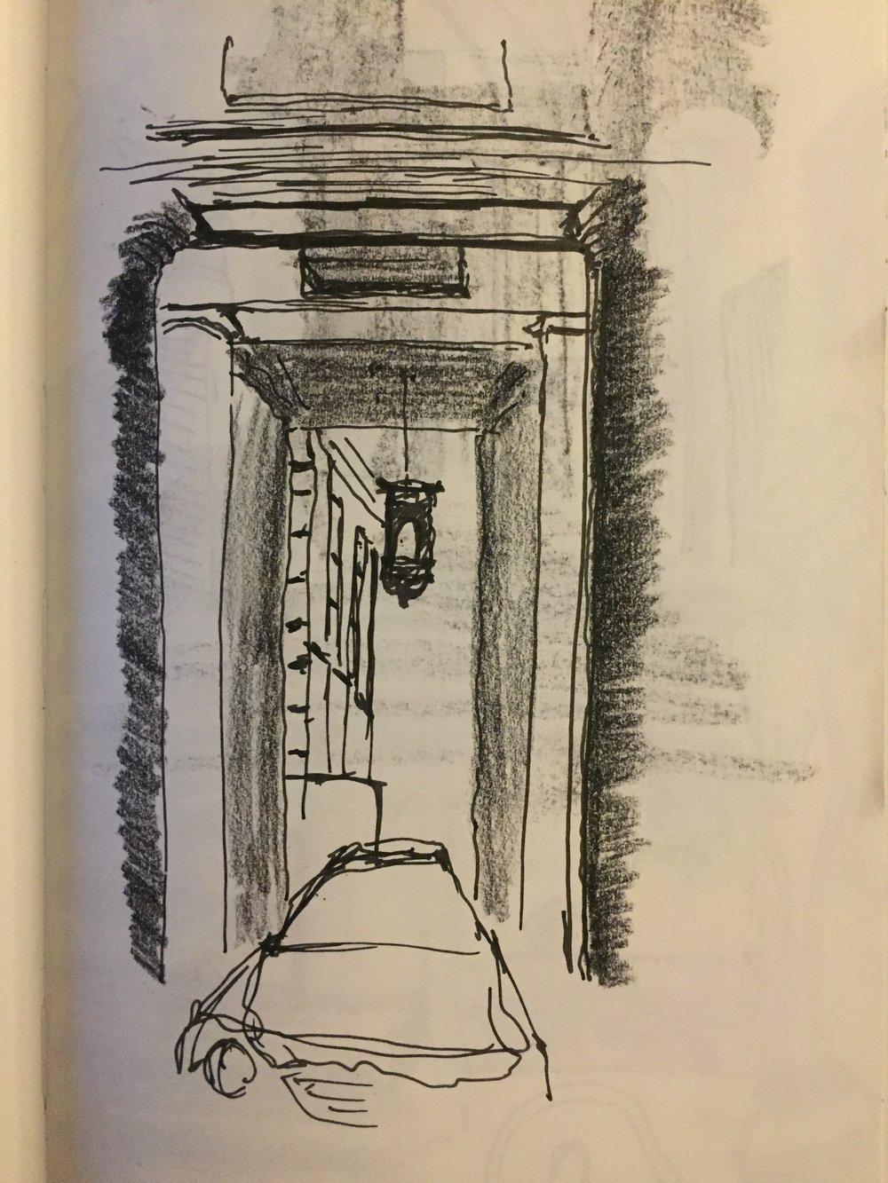 'Within the Palazzo Massimo'