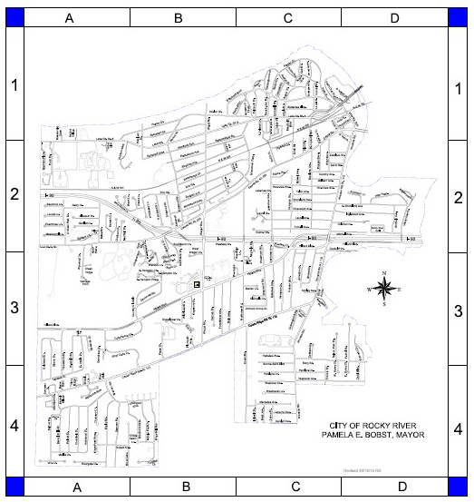 City Maps City Of Rocky River Ohio