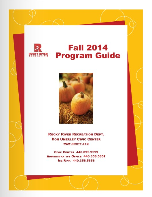 View the Fall 2014 Recreation Program Guide