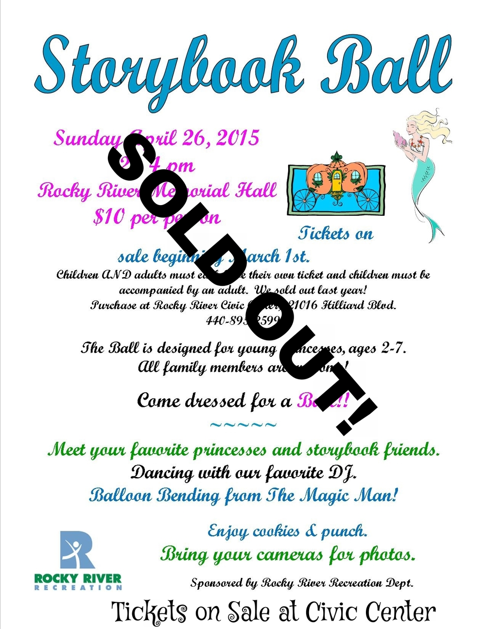 Tickets on Sale for STORY BOOK BALL!