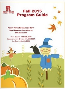 View the 2015 Fall Program Recreation Guide