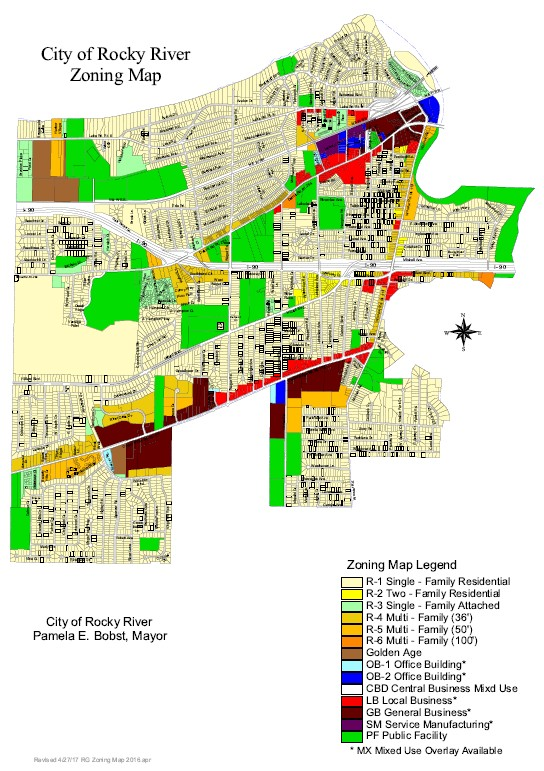 City Maps — City of Rocky River, Ohio Zoning Map City Of Commerce on missouri street map, missouri farmland erosion map, greenview mo map,