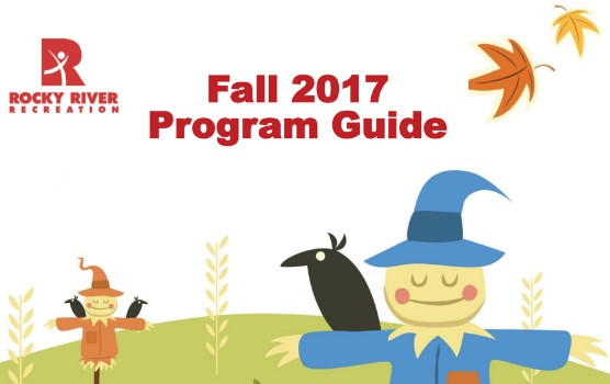Fall 2017 Recreation Program Guide