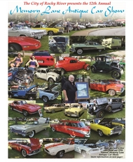 12th Annual Memory Lane Antique Car Show - Sunday, July 15th 12:00 - 3:00 PM - Click image for additional information
