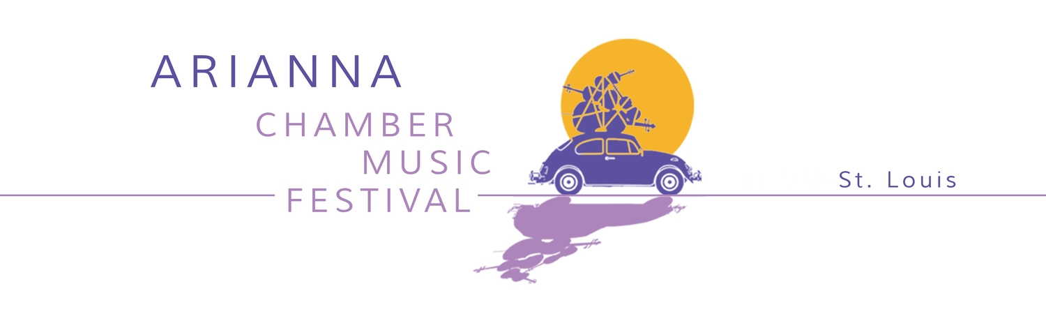The Arianna String Quartet's chamber music festival in St. Louis, MO. May 28- June 7, 2019.