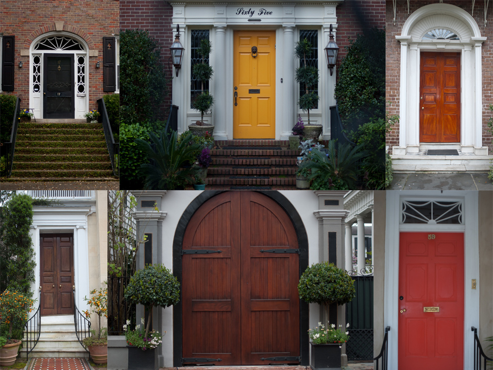One of my favorite features of the city. Unique homes. Unique doors. So bright and cheery.