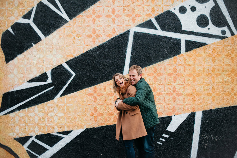 Mass Ave Engagement Session Erika Aileen Photography Indianapolis Indiana