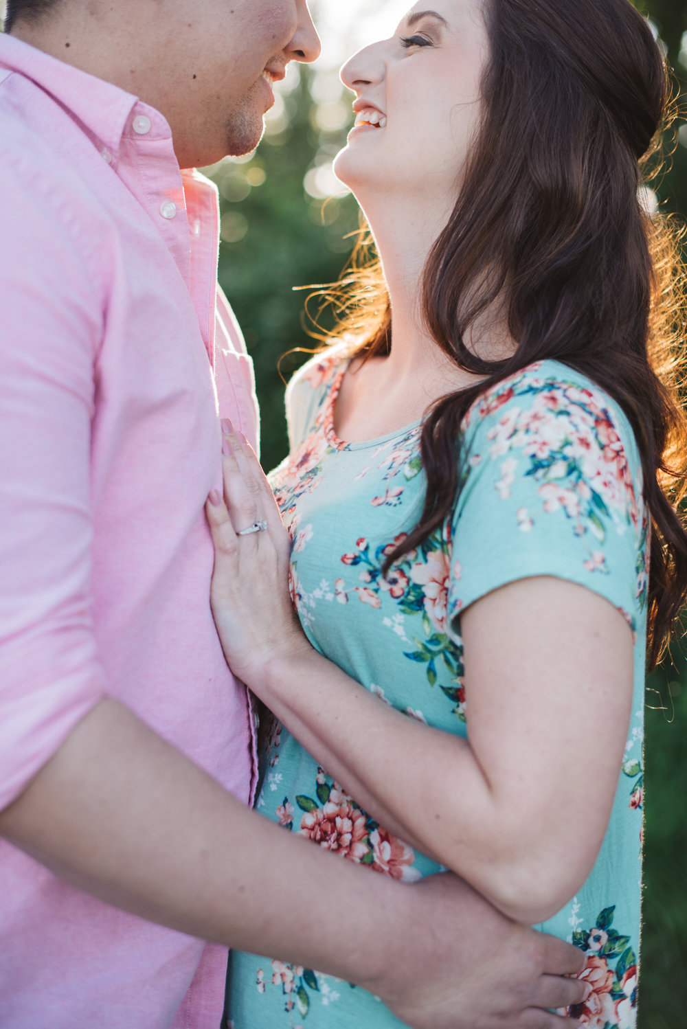Eagle Creek Spring Engagement Session Erika Aileen Photography Indianapolis Engagement and Wedding Photographer