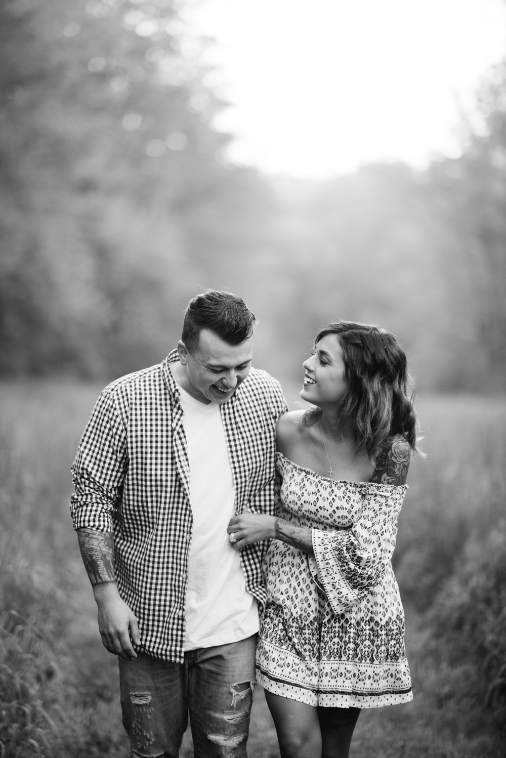 Lafayette Indiana Sunrise Engagement Session Erika Aileen Photography Lafayette Indiana Photographer