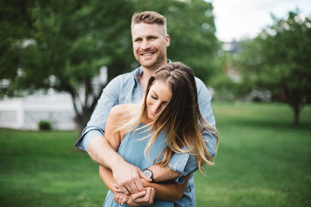 Erika Aileen Photography Fort Benjamin Harrison Porter Books Engagement Session Indianapolis Wedding Photographer