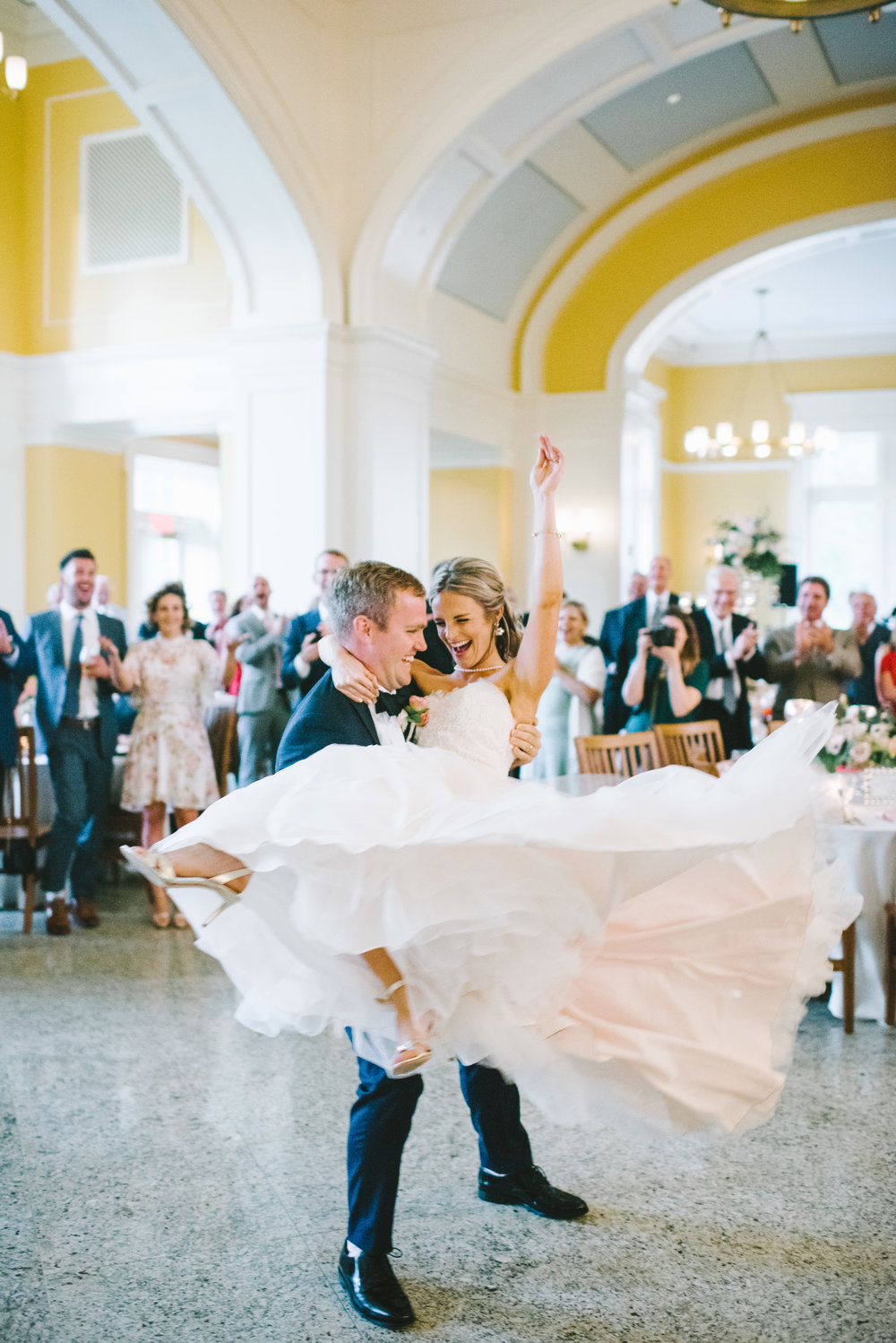 4. Be in the Moment - Your wedding day really does go by like a blur. So, yes, you will have photos and video, but there's nothing quite like being there 100% yourself. Those are the moments that the photos and the video will immortalize for you. You need only enjoy them.