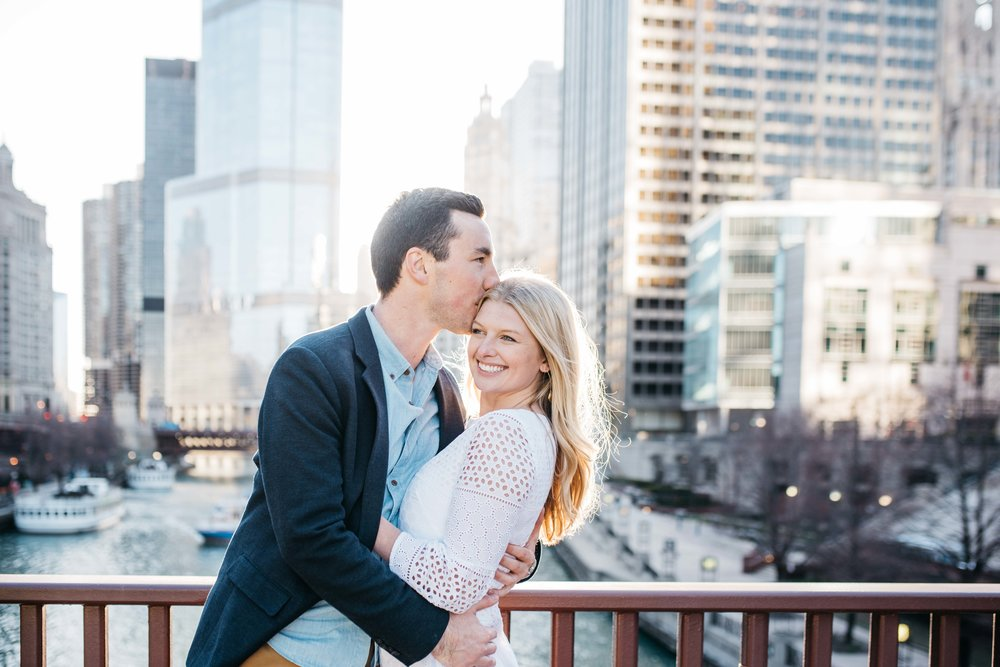 Nicholas J. Melas Centennial Fountain Engagement Session Erika Aileen Photography