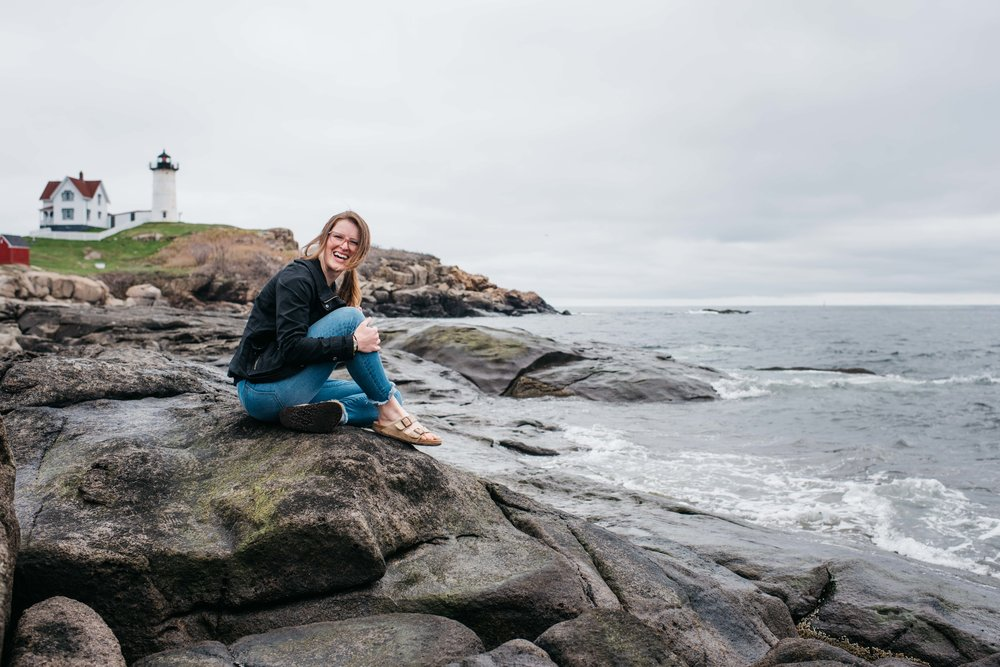 Erika Aileen Maine Wedding Photographer Nubble Point