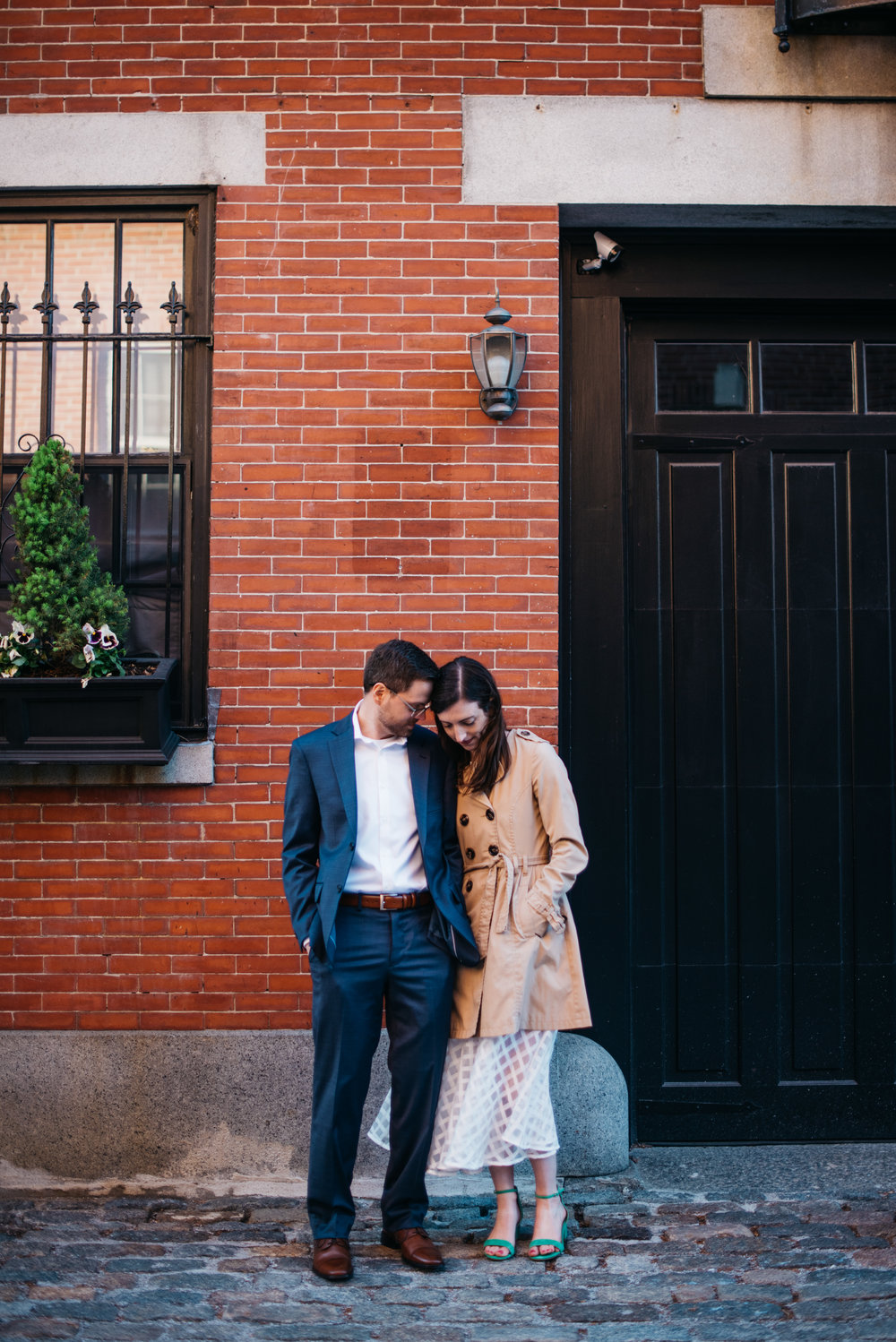 erika aileen boston wedding photographer beacon hill portrait session