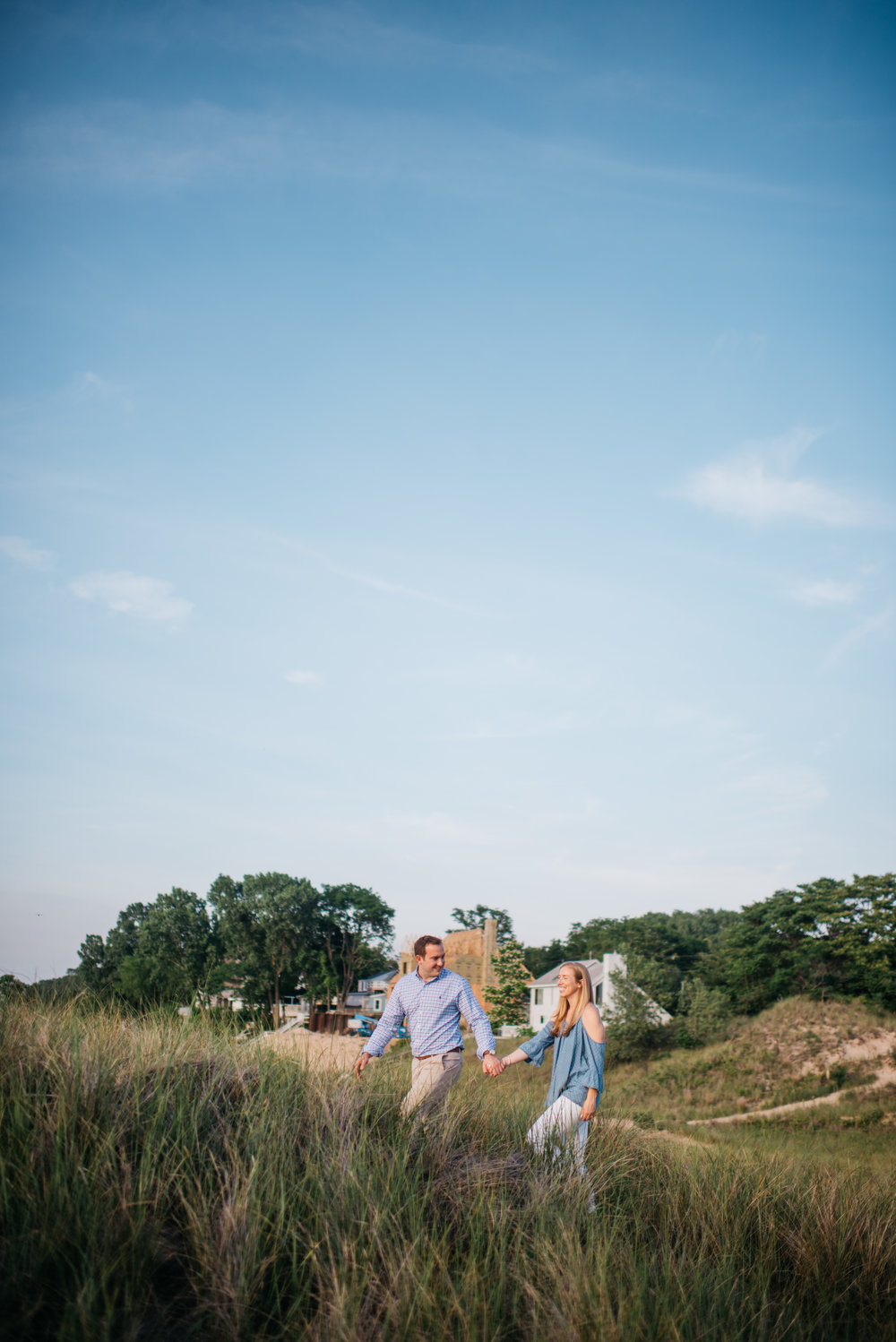 Erika Aileen Photography New Buffalo Wedding Photographer Galien River Park New Buffalo Engagement Session