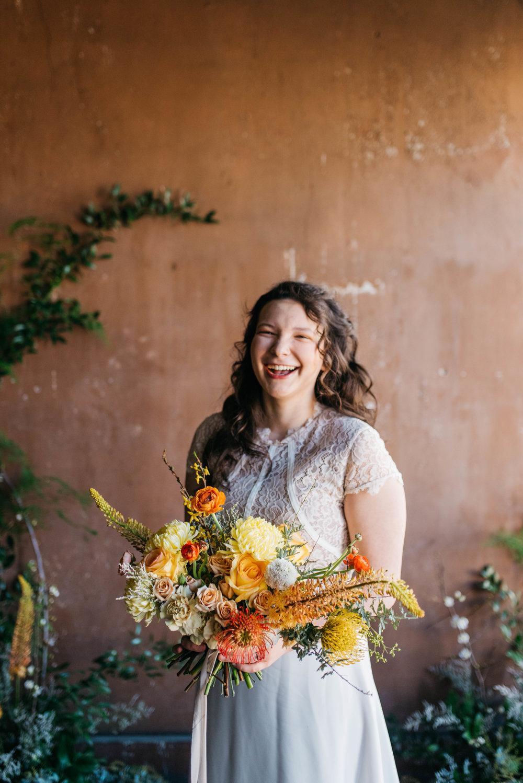 Erika Aileen Photography Grey Likes Weddings Feature Summer Wedding Inspiration