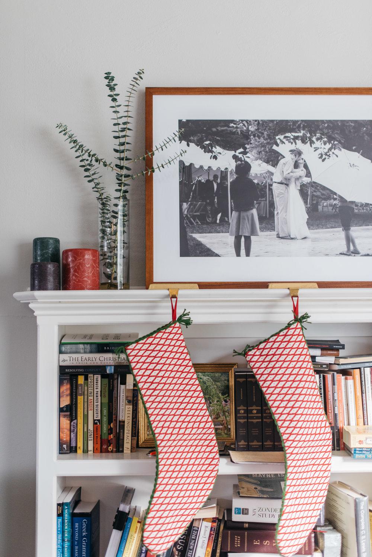 Mid century christmas decor erika aileen photography chicago indianapolis wedding photographer