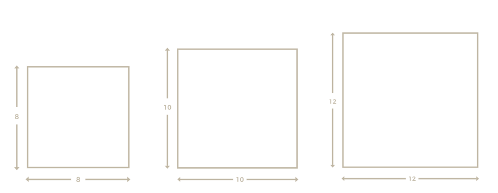 Album sizes