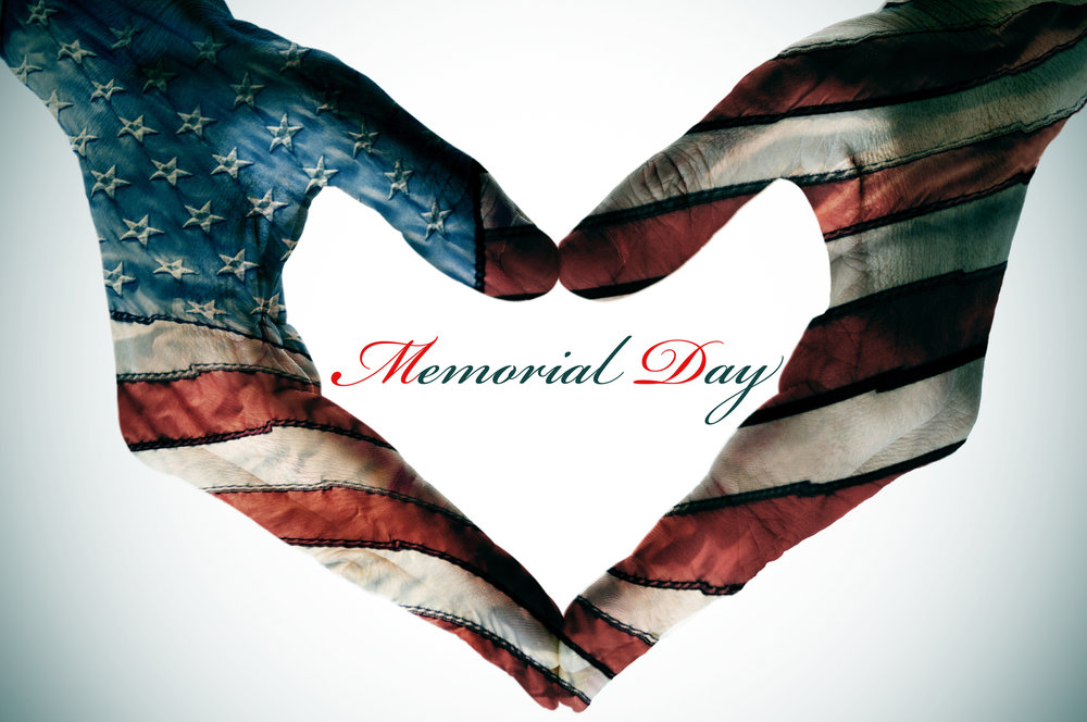 Wishing you all a safe and happy Memorial Day.
