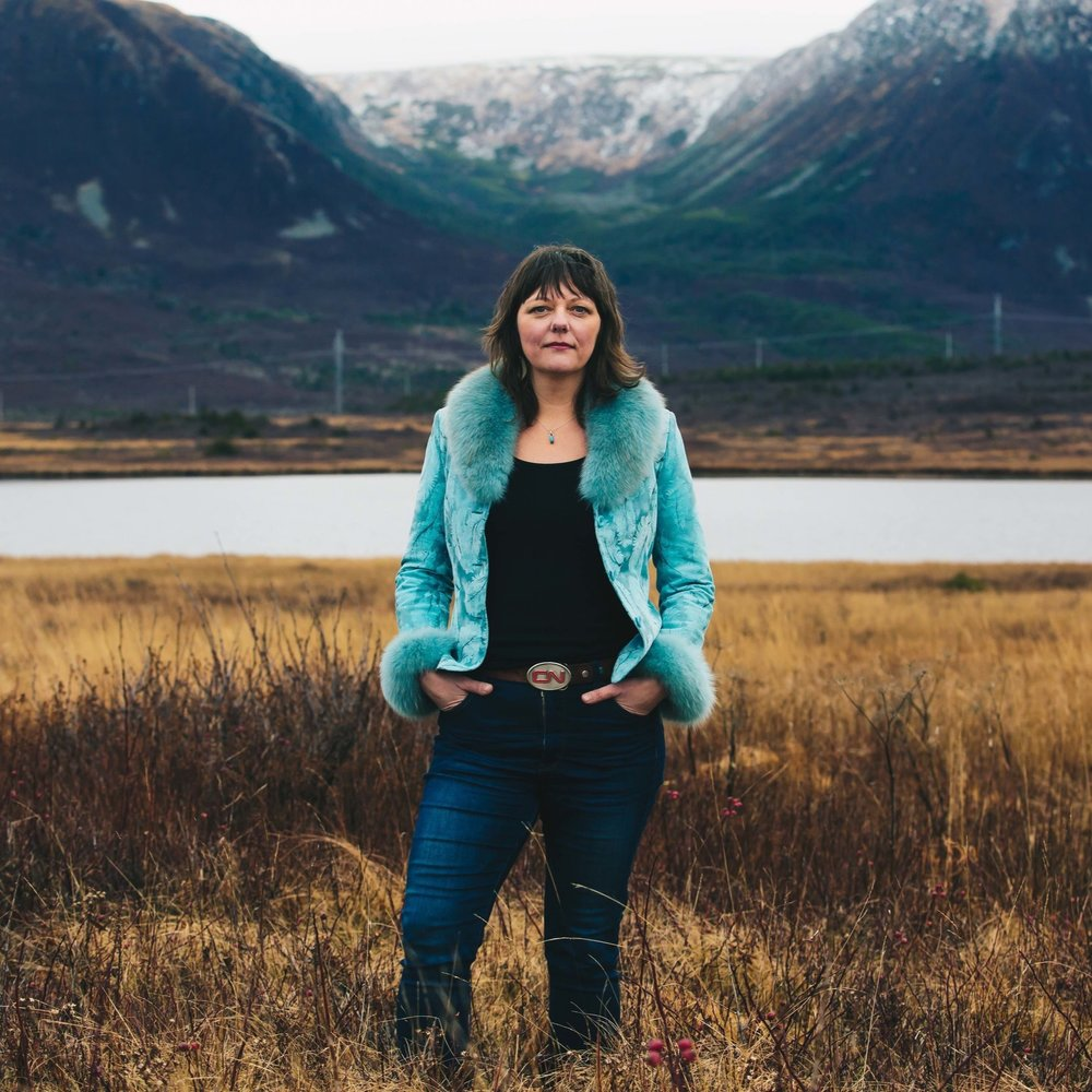 """Sherry Ryan - Sherry has been winning hearts across the country as one of Newfoundland's finest singer-songwriters. Her highly anticipated fourth album, Wreckhouse, takes its name from her song 'Stop The Trains'; a gem of a tune voted best song in the province by The 2018 People's Choice Awards. She was also awarded 2018 Music NL Female Artist of the Year. Described as """"so good – so distinct – it's absolutely unforgettable"""" her voice is one you pay attention to."""